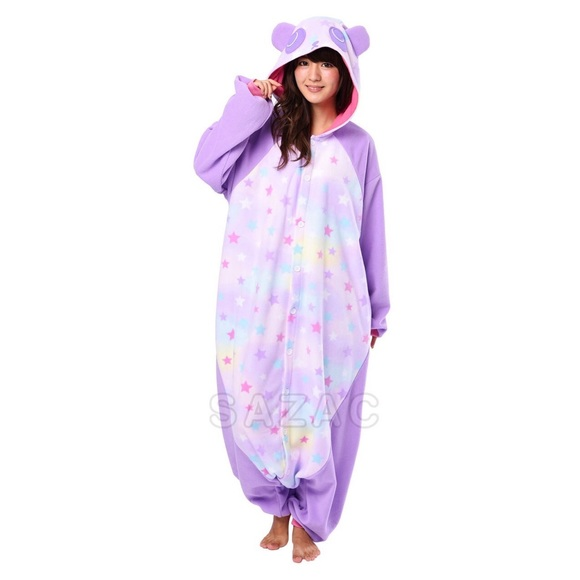 Other Kigurumi Fleece Rainbow Panda Onesie Poshmark